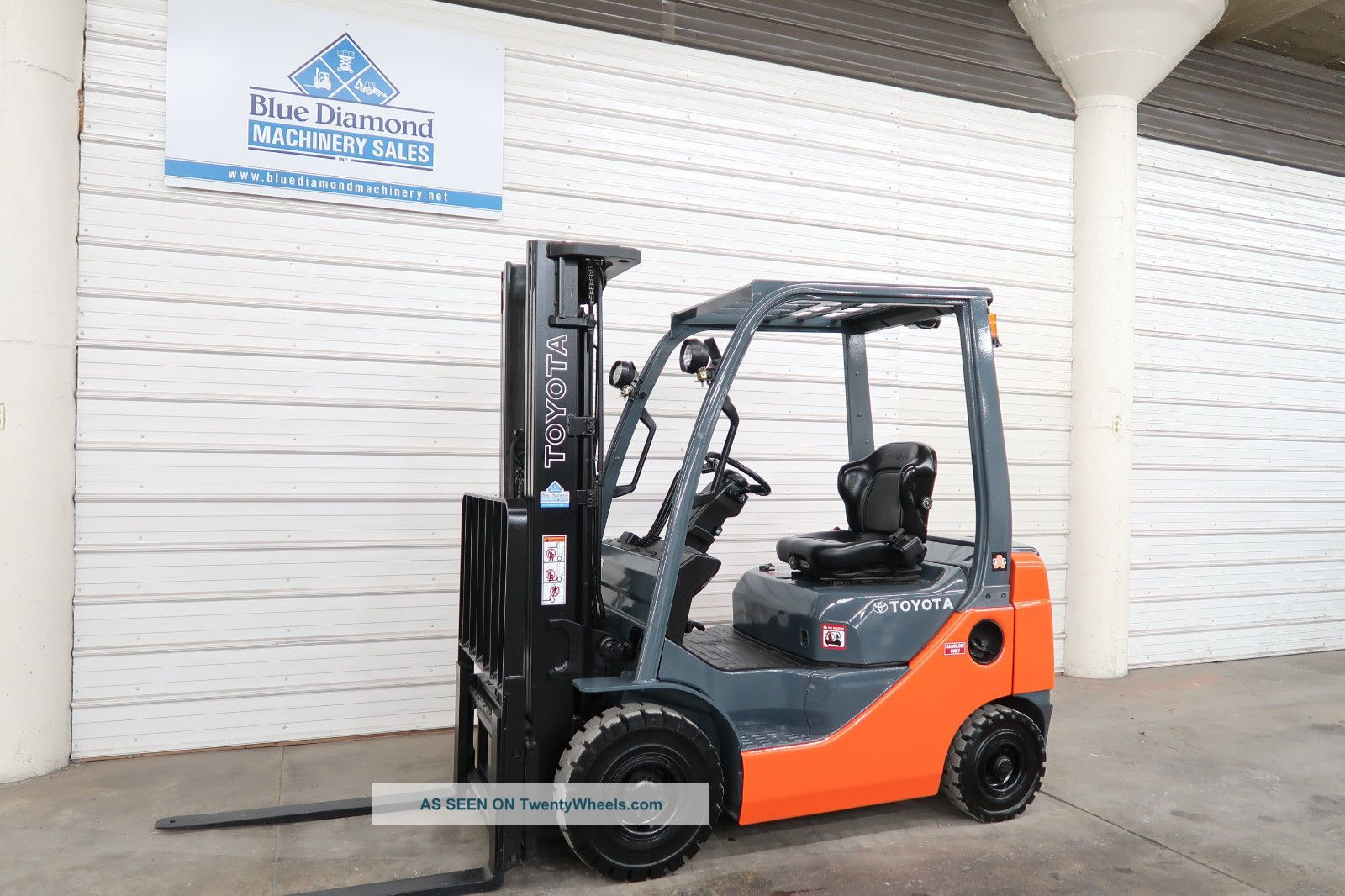 2012 Toyota 8fgu18,  3,  500 Pneumatic Tire Forklift,  189