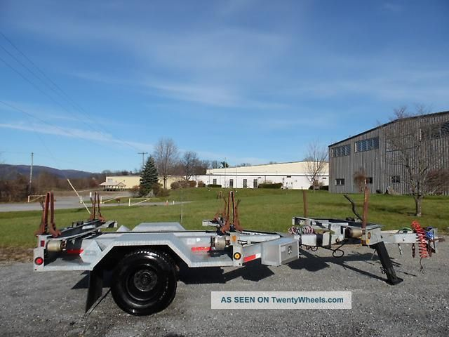 2000 Sherman & Reilly Srmpe - 115a Galvanized Extendable Pole Trailer Trailers photo