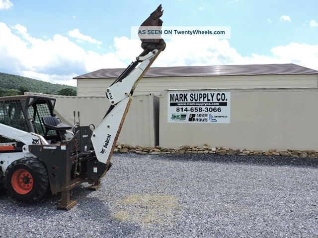 Bobcat 709 Skid Steer Loader Backhoe Attachment S185 763 S175 S205 Excavator Skid Steer Loaders photo