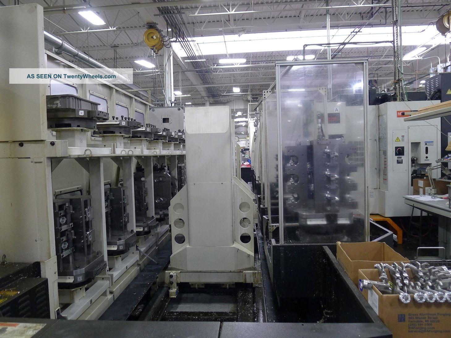 Mazak Pfh - 4800 Pallet - Tech System (2) Machines 32 Pallets