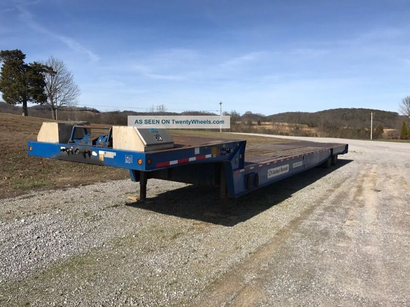 Trail King 40 Ton Lowboy Trailers photo