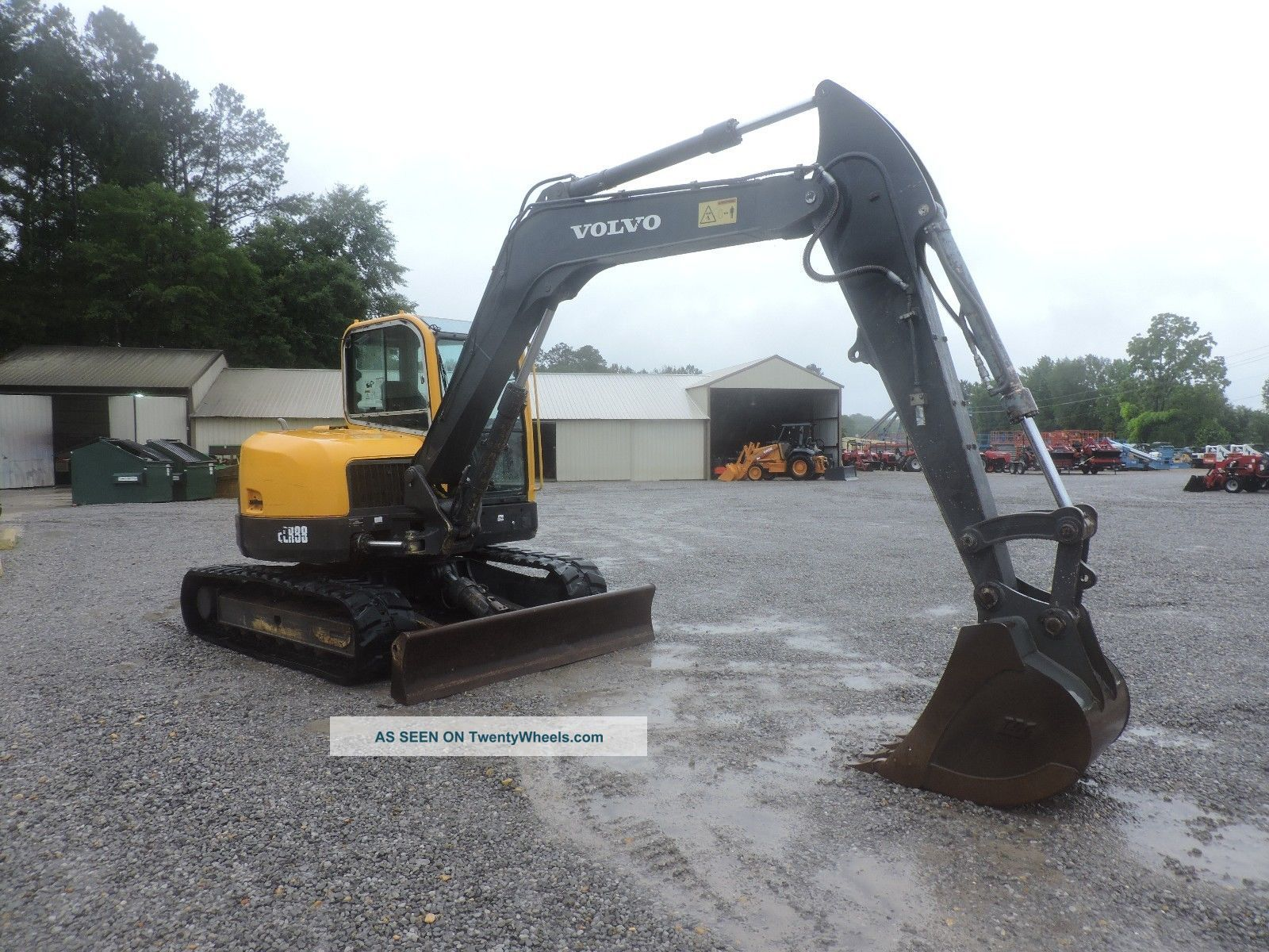 2011 Volvo Ecr88 Excavator - Caterpillar - Deere - Bobcat - Fully Enclosed Cab Excavators photo
