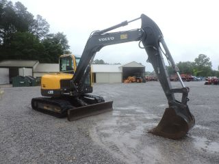 2011 Volvo Ecr88 Excavator - Caterpillar - Deere - Bobcat - Fully Enclosed Cab photo
