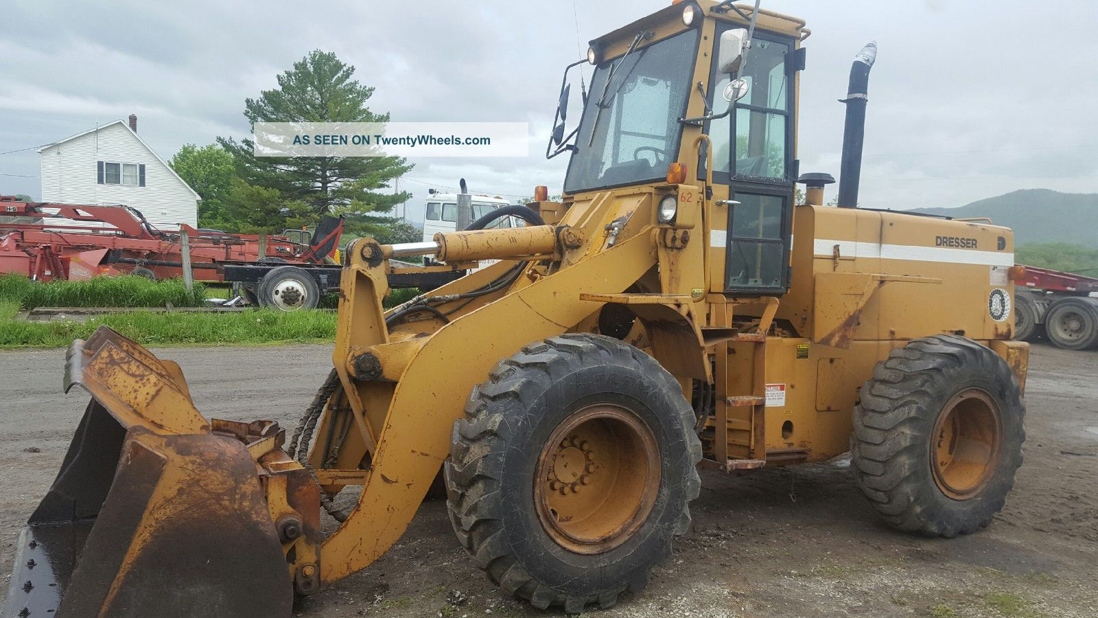 Dresser 520b Loader / Coupler And Aux.  Hydraulics Wheel Loaders photo