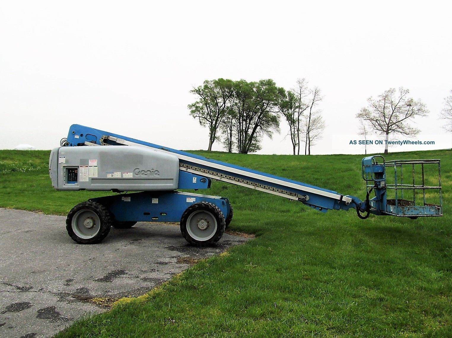 2008 ' Genie S - 60 Boom Lift,  Diesel,  Manlift,  4x4 Drive,  Jlg 60 600s Aerial S60 Scissor & Boom Lifts photo