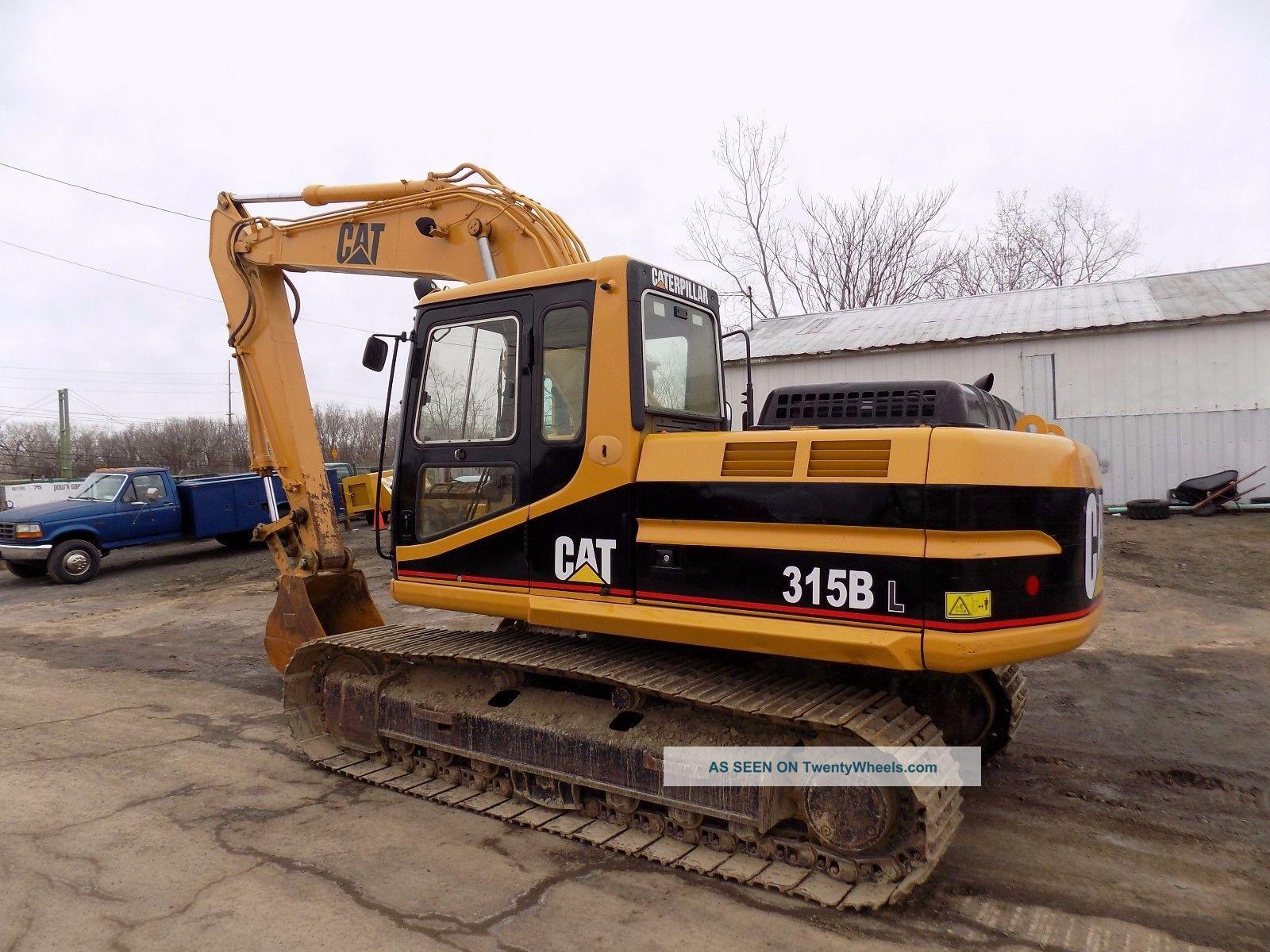 2000 Caterpillar 315bl / Cat 315 B L Excavator / Cat 315 Shovel Excavators photo