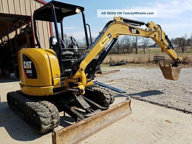 Caterpillar Mini Excavator 304e Cr Excavators photo