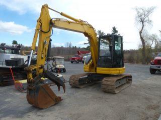 2001 Komatsu Pc78 Excavator Auburn Maine photo