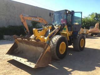 2003 Komatsu Wa250 - 5l Wheel Loader; Tx Machine photo