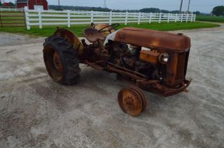 Ford 8n Tractor W/ Funk Conversion photo