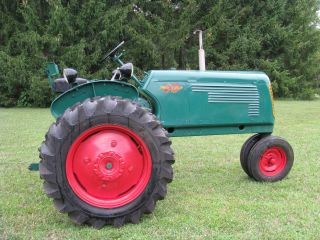 Oliver 60 Row Crop Tractor photo