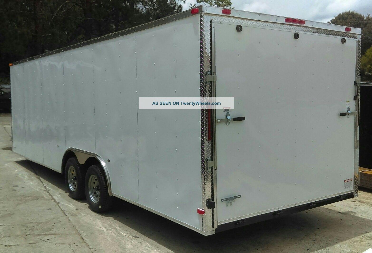8.  5x20 Auto Hauler Enclosed Cargo Trailer - 2018 General Series W/ 5 Yr Trailers photo