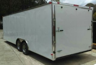 8.  5x20 Auto Hauler Enclosed Cargo Trailer - 2018 General Series W/ 5 Yr photo