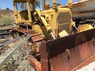 Caterpillar D6c Dozer Rear Ripper Straight Dozer With Slope Board photo