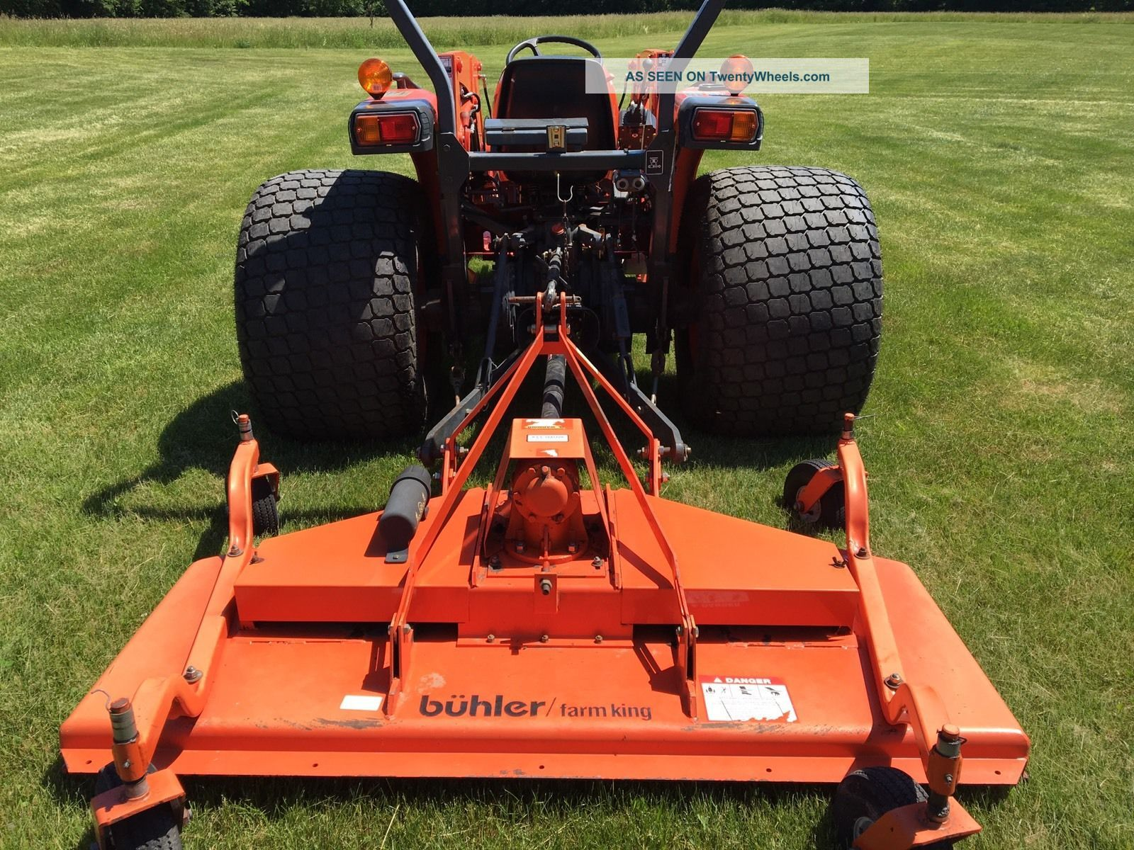 Bobcat T190 Specs >> Kubota Mx5100 240 Hours Loader And Finish Mower Skid Steer Quick Connect