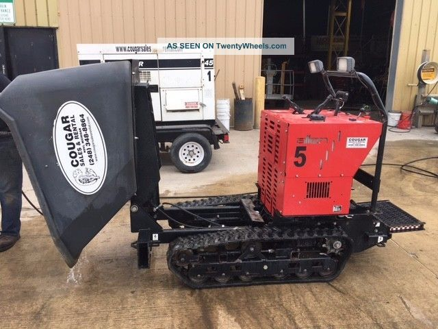 Allen Eng Concrete Track Power Buggy At16 W/ 16cf Poly
