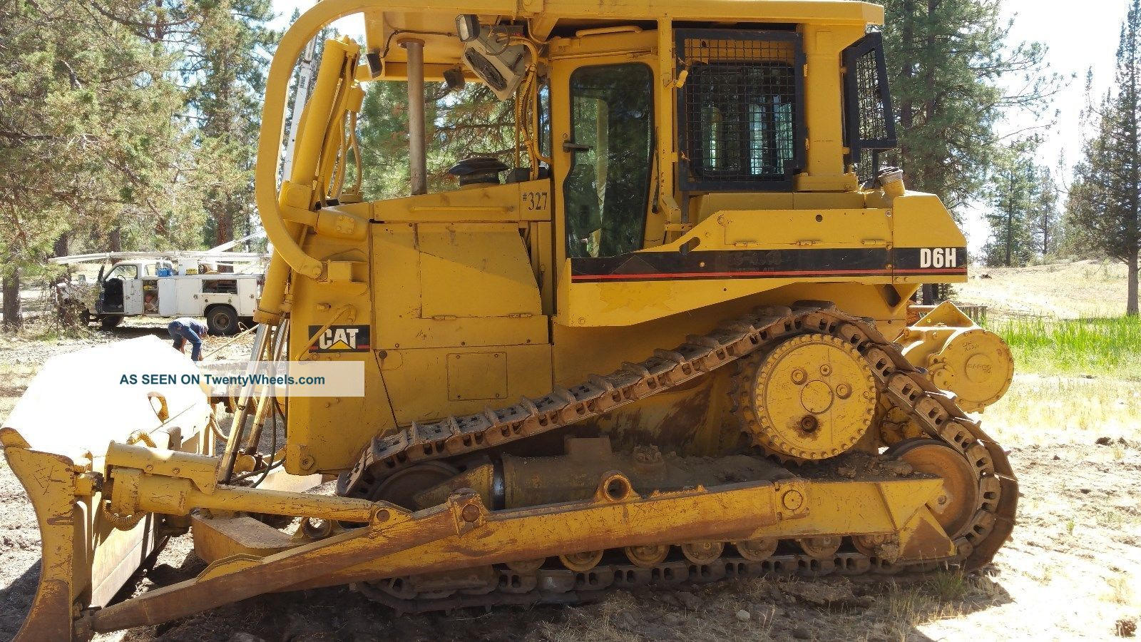 1990 Caterpillar D6h Winch Crawler Dozers & Loaders photo