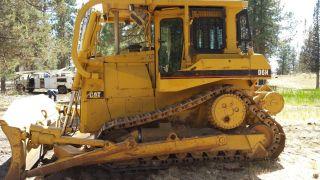 1990 Caterpillar D6h Winch photo