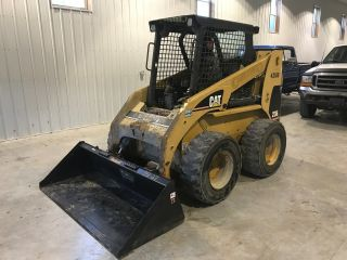 2002 Cat Caterpillar 236 Skid Steer Loader,  2255 Hours, photo
