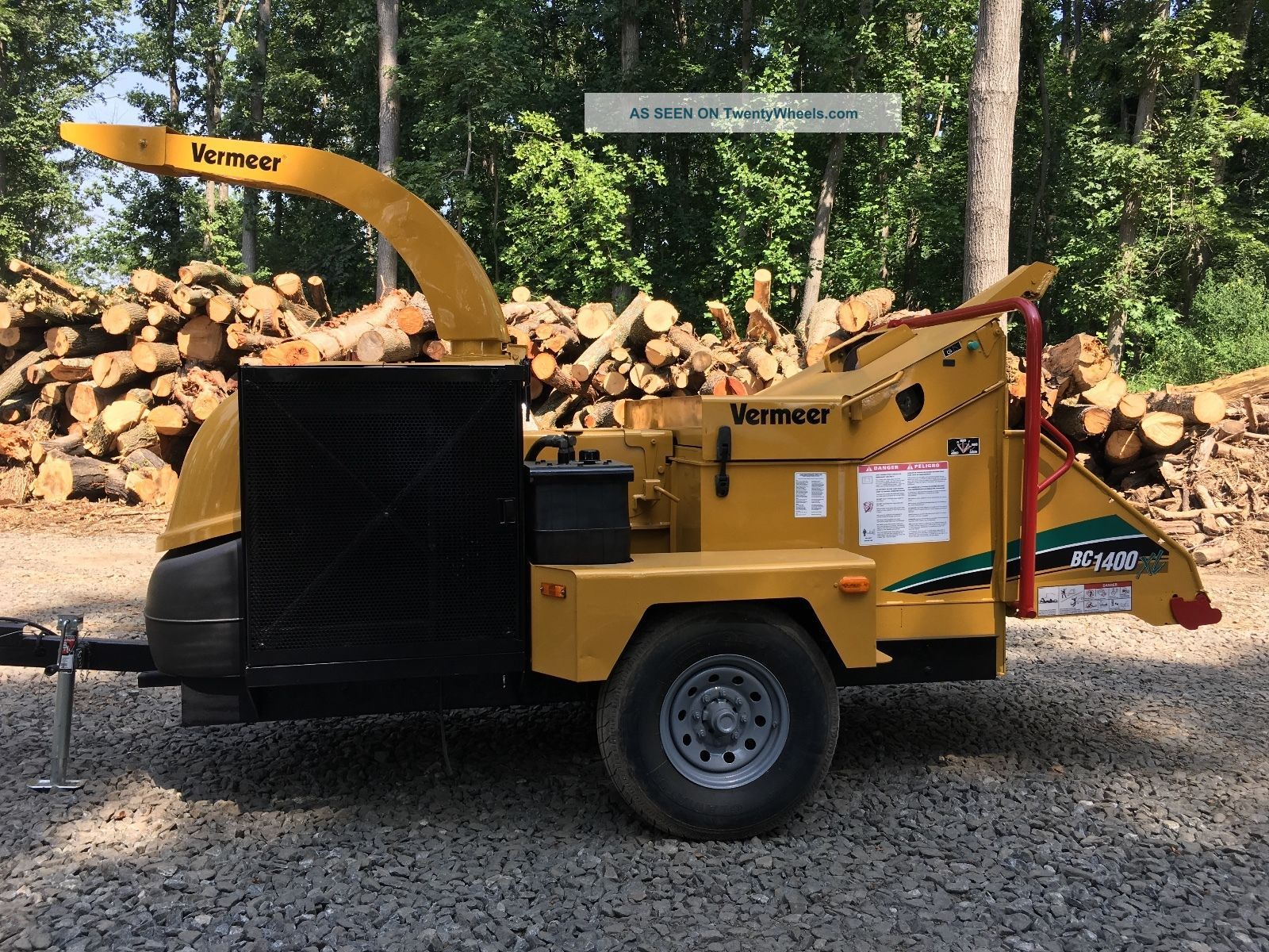 Vermeer Bc1400xl Chipper Wood Chippers & Stump Grinders photo