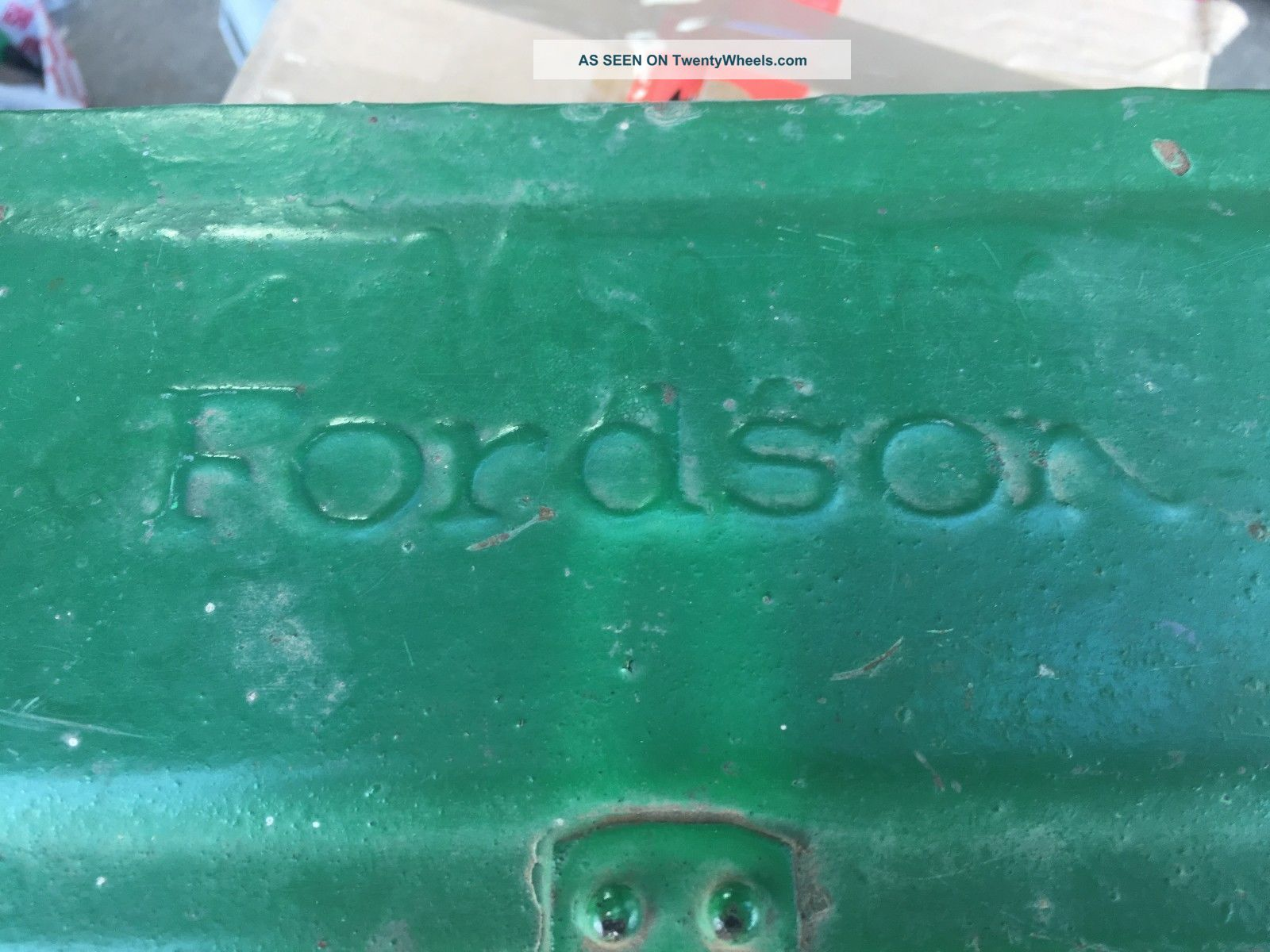 Fordson Tractor Or Implement Toolbox With Lid Antique Uncategorized photo