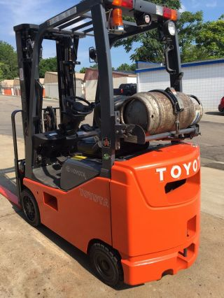 2012 ' Toyota 8fgcu15,  3,  000 Cushion Tire Forklift,  189
