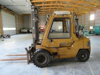 Caterpillar Gpl40 9000lb Lp Propane Forklift Lift Truck Mitsubishi Iowa photo