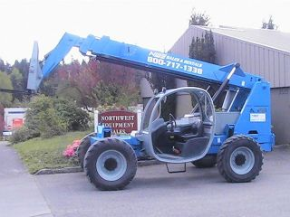 Genie Gth - 644 Reach Forklift Telehandler (1124) photo