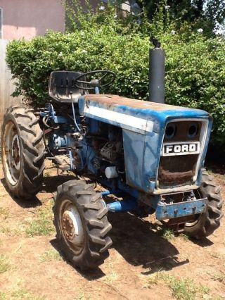 Ford Tractor photo