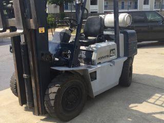 Komatsu Forklift Fg 40zt - 5 photo