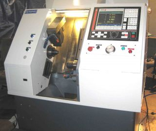 Gts - Fx Cnc With Subspindle - 5c 5c - Full C Axis Main Spindle - Indexing Sub photo