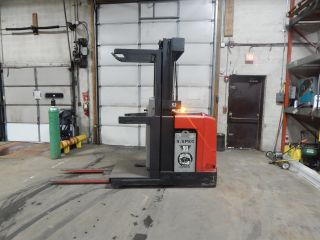 1995 Raymond Order Picker Forklift - Battery Included - photo