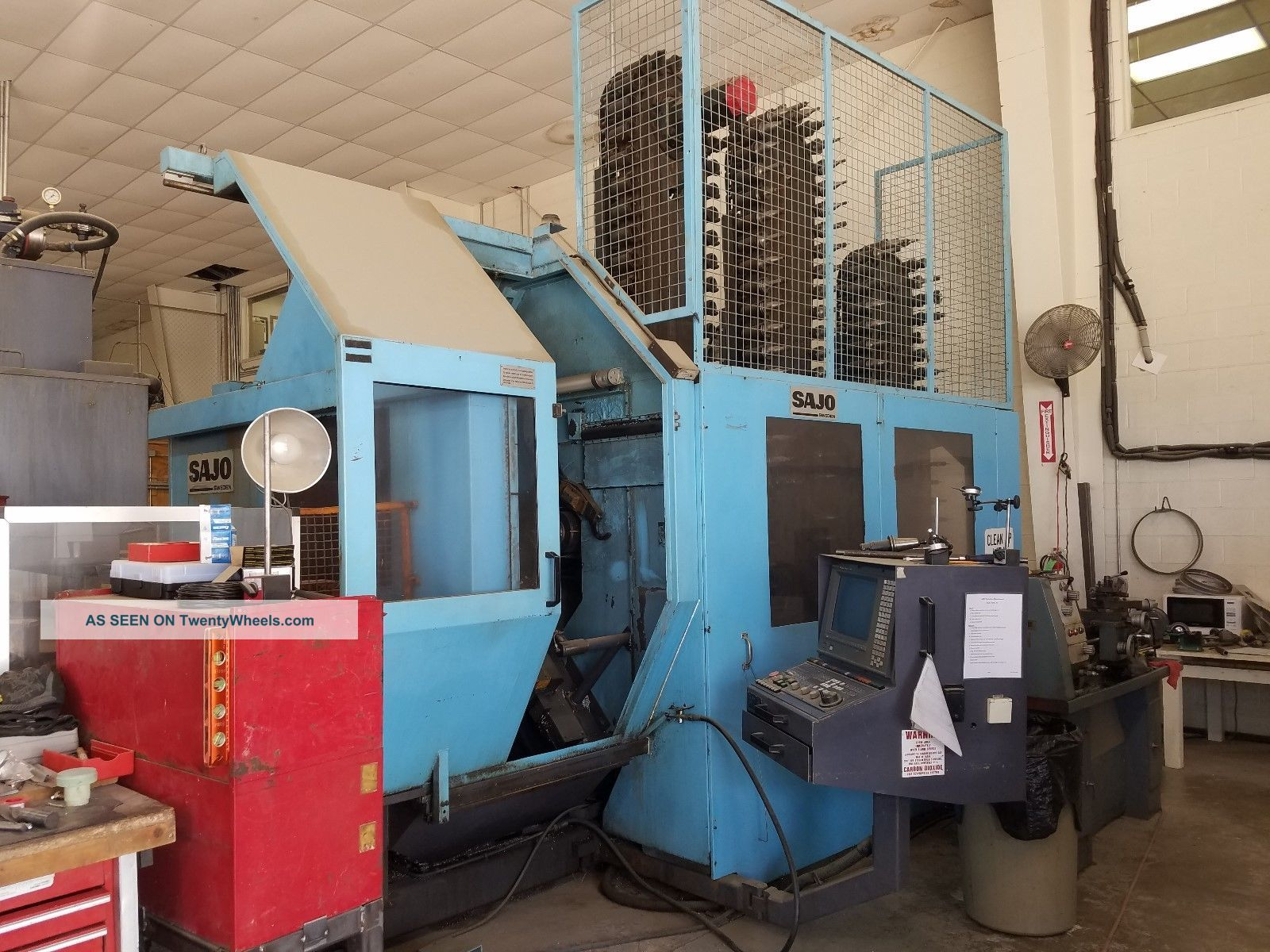 1997 Sajo,  Hmc 40,  Horizontal,  Machining Center,  5 Axis Milling Machines photo