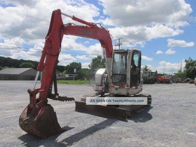2007 Link Belt 75 Spin Ace Midi Excavator W/ Cab & Thumb Excavators photo