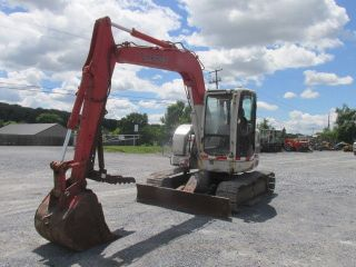 2007 Link Belt 75 Spin Ace Midi Excavator W/ Cab & Thumb photo
