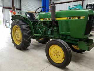 John Deere 850 Tractor 1500 Hrs photo