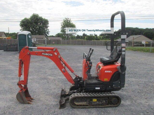 2013 Kubota Kx008 - 3 Mini Excavator Excavators photo