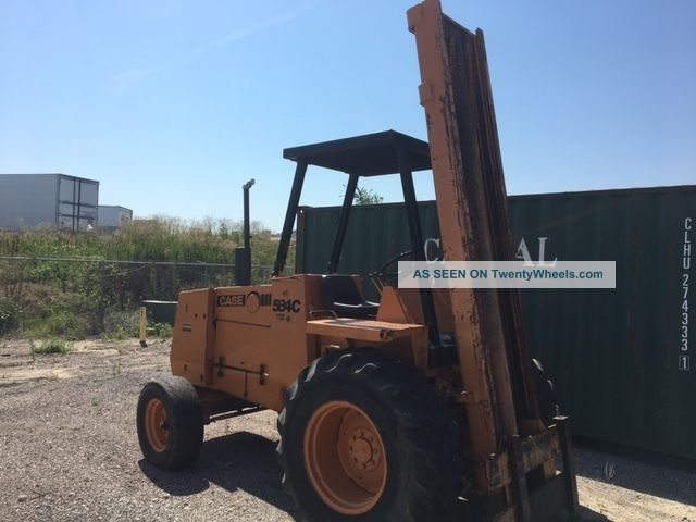 Case 584c Forklift Forklifts photo