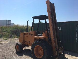 Case 584c Forklift photo