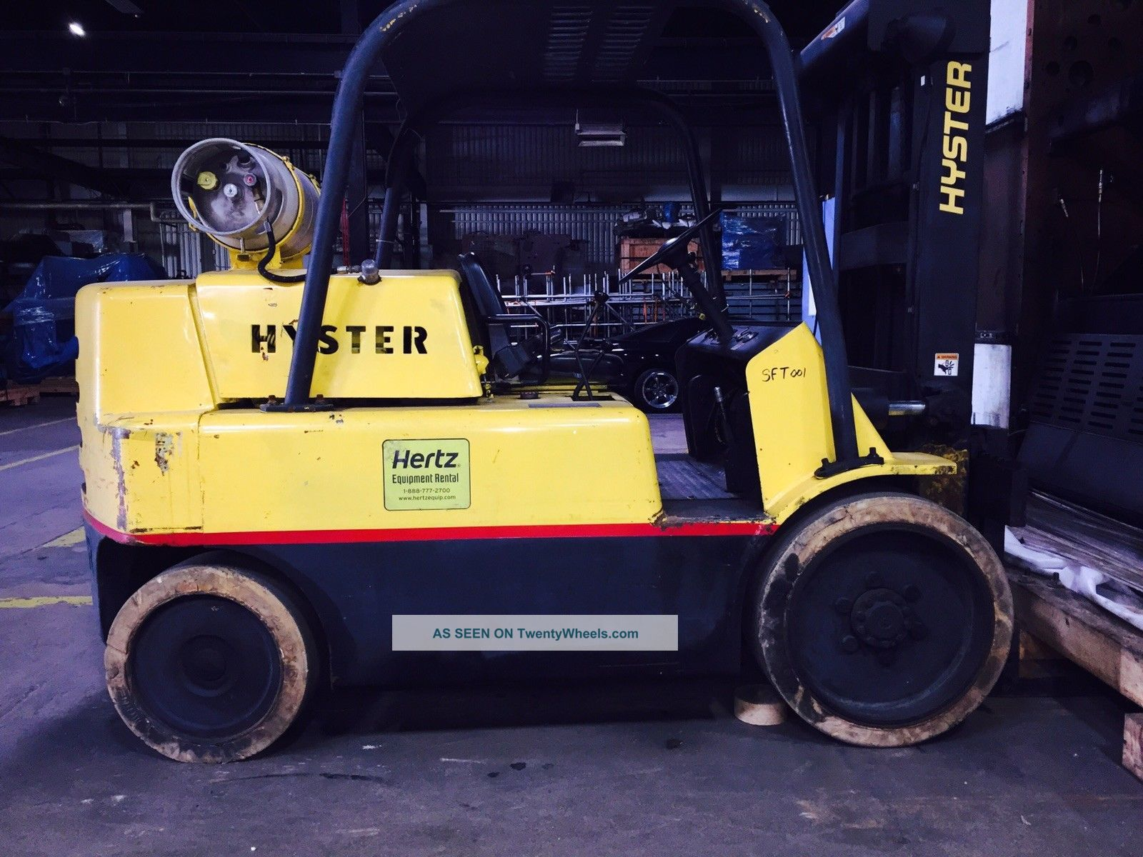 Hyster Forklift 15000lbs.  Propane/natural Gas Forklifts photo