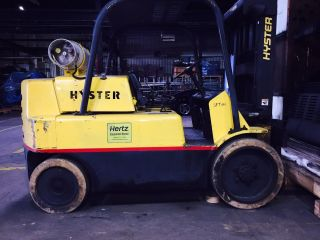 Hyster Forklift 15000lbs.  Propane/natural Gas photo