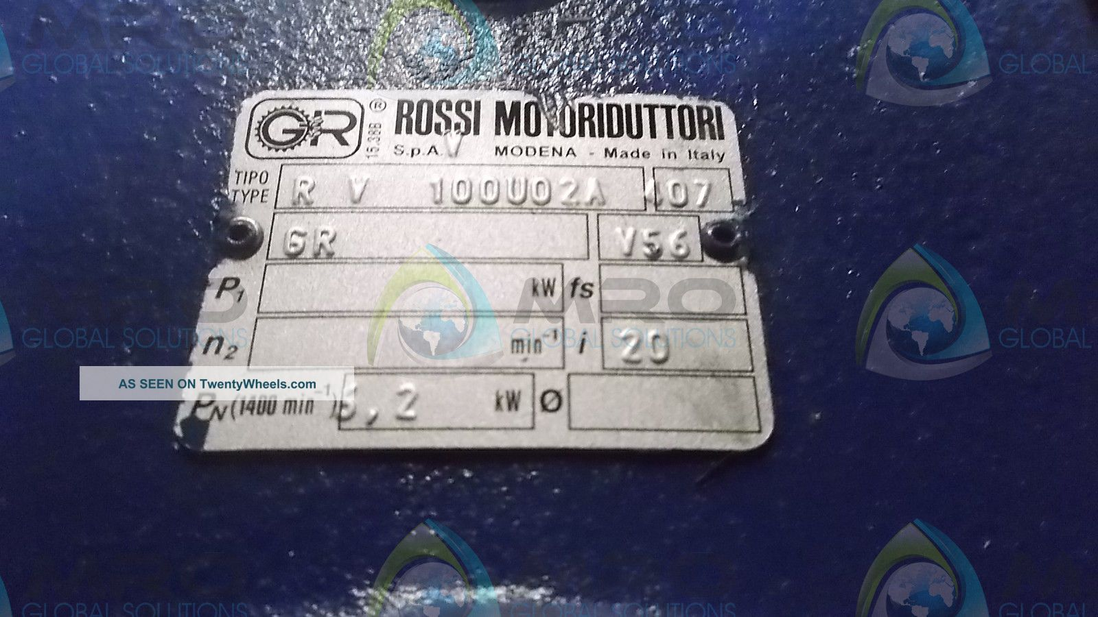 Rossi Motoruduttori Rv 100u02a Forklifts photo