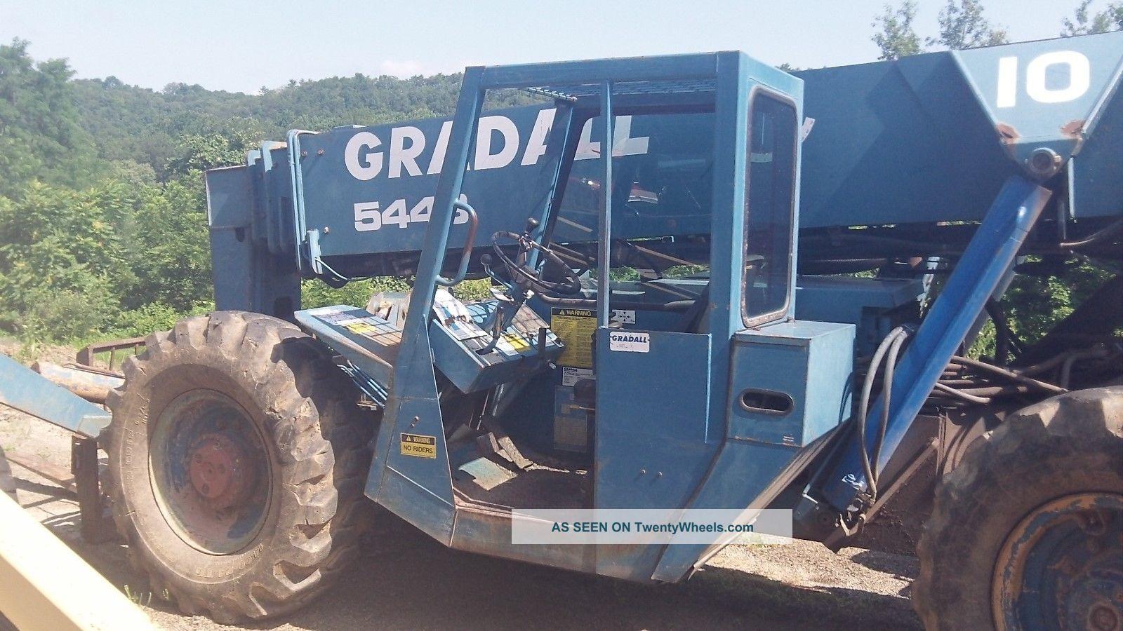 Gradall 544b 10,  000lb Capacity Telescopic Boom Telehandler Jlg Forklift Forklifts photo