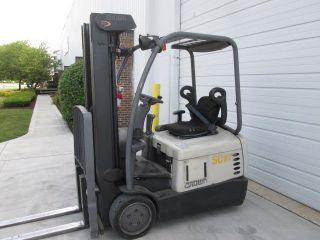 2002 Crown Sc4020 - 30.  36 Volt Electric Forklift.  190