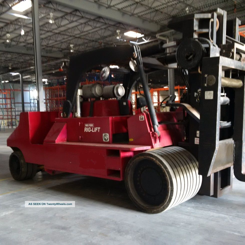 100,  000 Lb Capacity Propane Forklift Forklifts photo