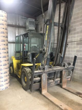 Hyster H280xl 28,  000lbs Forklift Boom Truck - Side Shift - Diesel photo