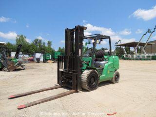 2011 Mitsubishi Fg50cn 10,  000 Lbs Dual Fuel Lpg Industrial Forklift Lift Truck photo