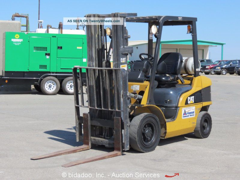 2005 Caterpillar P5000 5,  000 Lbs Warehouse Industrial Forklift Lift Truck Cat Forklifts photo