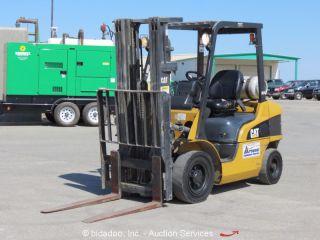 2005 Caterpillar P5000 5,  000 Lbs Warehouse Industrial Forklift Lift Truck Cat photo