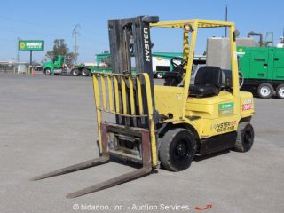 2004 Hyster H50xm 5,  000 Lbs Warehouse / Industrial Fork Lift Truck Lp 189